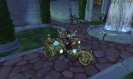 Amonet the firefly driving in a motorbike!
